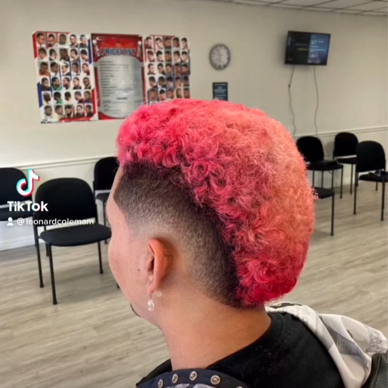 Mohawk Colored Hair